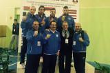 La Nazionale Italiana FSSI di Karate conquista 4 medaglie, due ori e due bronzi