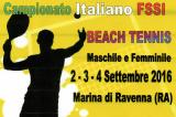 2-4 Settembre, Marina di Ravenna (RA). Campionato FSSI di Beach Tennis M/F