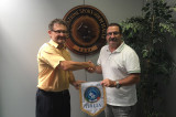 Incontro con il Presidente della Federazione Mondiale dei Sordi di Golf Mr Hart