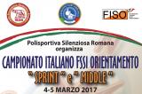 4-5 Marzo, Roma (RM). Campionato FSSI di Orientamento Sprint e Middle