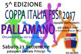 23-24 Settembre, Camerano (AN). Coppa Italia e Supercoppa FSSI di Pallamano