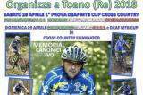 28-29 Aprile, Toano (RE). Campionato FSSI di MTB Deaf Cup Cross Country e XCE