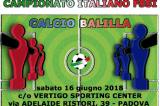 16 Giugno, Padova (PD). Campionato FSSI di Calcio Balilla