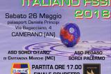 26 Maggio, Camerano (AN). Campionato FSSI di Pallamano