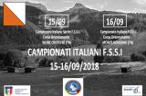 15-16 Settembre, Trento (TN). Campionato FSSI di Orientamento Sprint e Middle