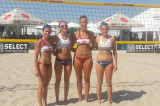 4th EC Beach Volley a Kiev – Le azzurre perdono contro la Repubblica Ceca 2-1
