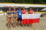 4th EC Beach Volley a Kiev – Le azzurre perdono contro la Polonia 2-0