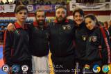 Daniele Di Guido e Marco De Luca gli atleti Sordi della Nazionale Italiana FSSI di Karate