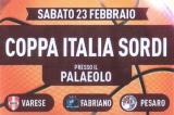 23 Febbraio, Castelletto Ticino (NO). Coppa Italia FSSI di Pallacanestro/M