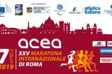 Estratto dal regolamento Maratona Internazionale di Roma il 7 Aprile 2019