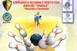 12 Aprile, Rubano (PD). Campionato Regionale FSSI di Bowling Singolo M/F
