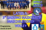 18-20 Aprile, Latina (LT). Raduno della Nazionale di Pallavolo/M