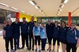 La nazionale di bowling sordi in ritiro a Torino