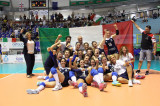 La Nazionale Italiana di Pallavolo/F è Campione d'Europa. Battuta la Russia 3-0