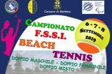 6-8 Settembre, Modena (MO). Campionato FSSI di Beach Tennis M/F