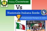 12 Ottobre, Cerreto Guidi (FI). Partita amichevole Nazionale Pallavolo/F – Volley Cerretese