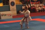 Campionati Europei di Karate, l'azzurra Greta Ampollini conquista la medaglia d'oro