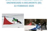 22 Febbraio, Bielmonte (BI). Campionato FSSI di Snowboard